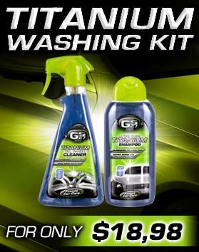 GS27 Titanium Washing Kit