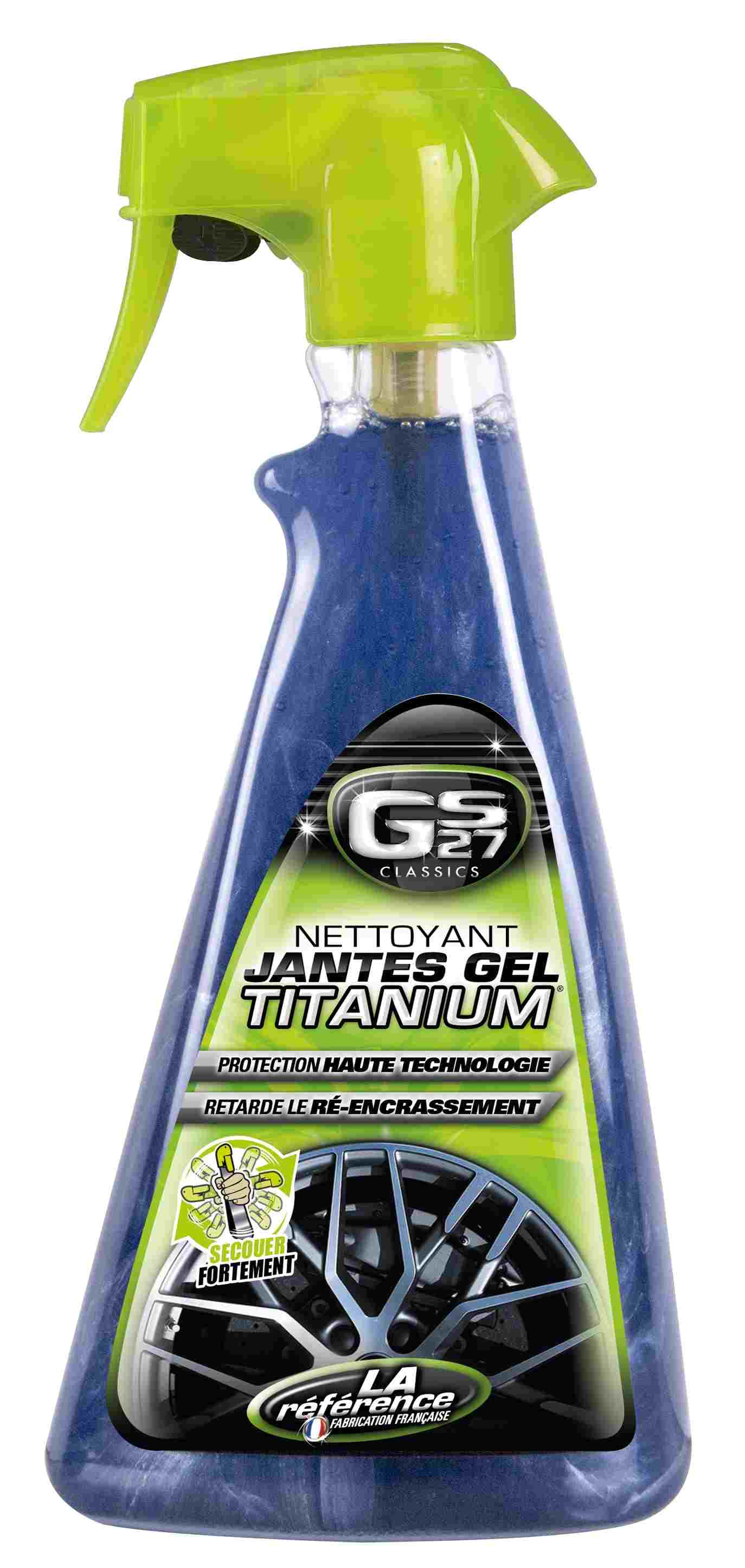 Nettoyant Jantes Gel Titanium