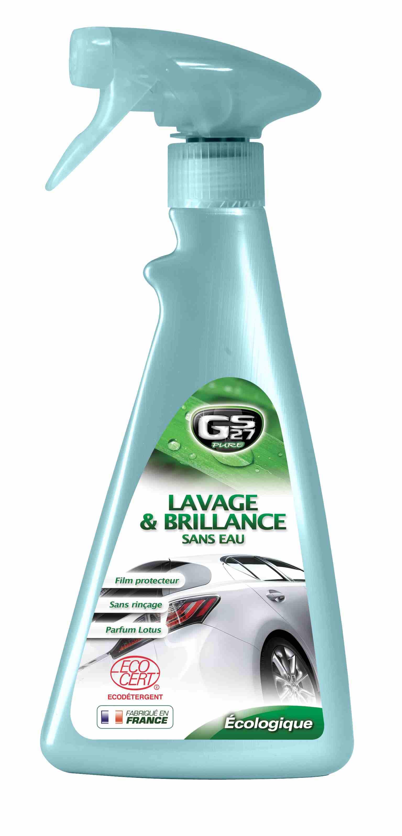 Lavage & Brillance Sans Eau - ECOCERT - 500 ml