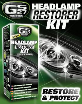 headlamp restorer kit